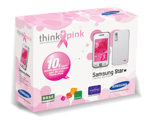 Samsung S5230 Think-Pink Limited Edition Pack
