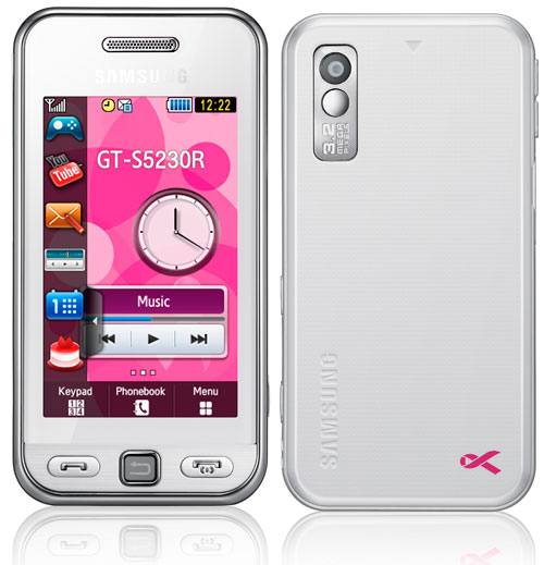 Samsung S5230 Think-Pink Limited Edition