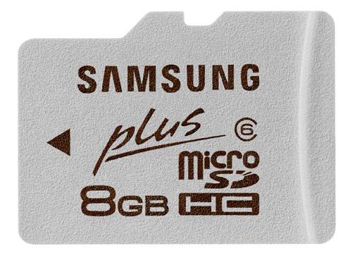 Samsung Plus Memory cards