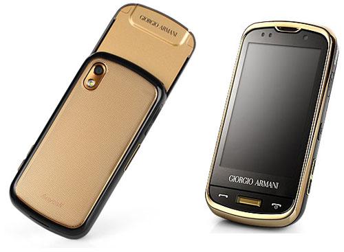 Samsung Giorgio Armani W8200