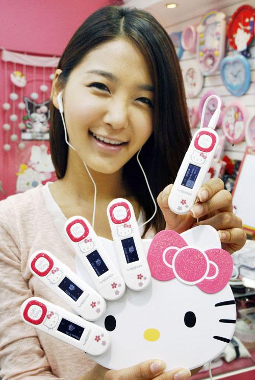 Samsung YP-U5 Hello Kitty