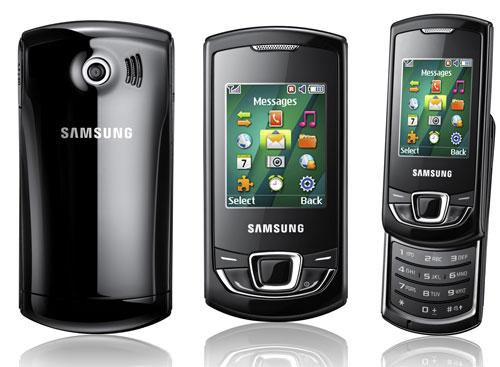 Samsung Monte Slider (GT-E2550) & Monte Bar (GT-C3200 ...