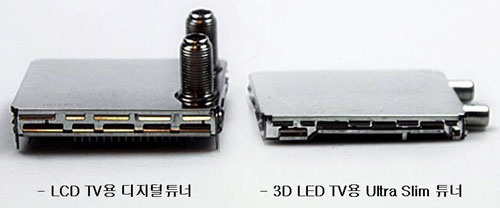 Samsung 3D LED TVs have world's smallest tuners - Sammy Hub