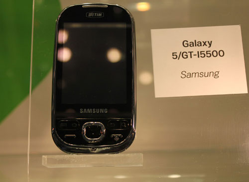 Samsung Galaxy 5 (GT-I5500)