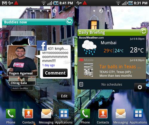 Samsung Buddies Now Widget Download For Bada