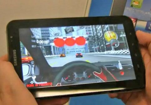 Galaxy Tab gaming