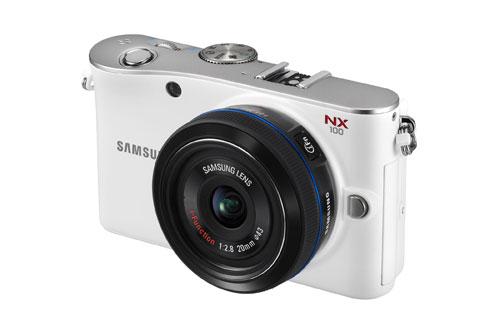 Samsung NX100 White