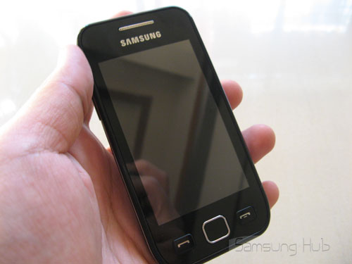 Samsung Wave 525 Hands-on