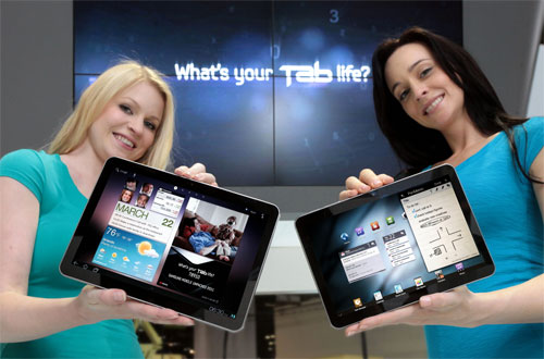 Galaxy Tab 10.1 and Galaxy Tab 8.9