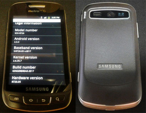 Samsung Admire (SCH-R720)