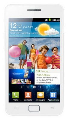 Galaxy S II White