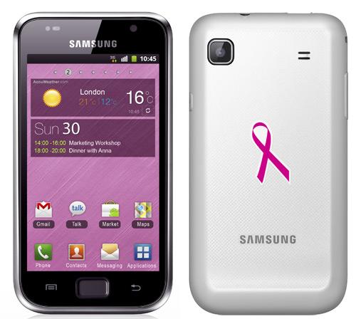 Galaxy S Plus Pink Ribbon Edition