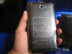 Galaxy Note Hands-on
