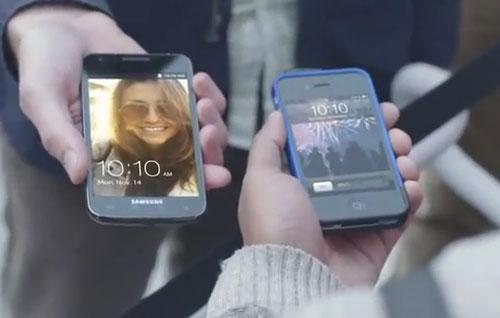 Samsung Galaxy S II ad