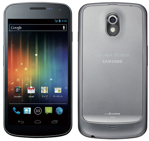 Samsung Galaxy Nexus for Japan (SC-04D)