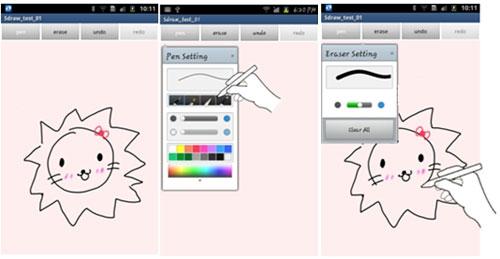 Samsung S Pen SDK 1.0