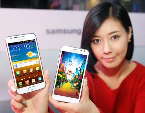 Galaxy S II HD LTE White
