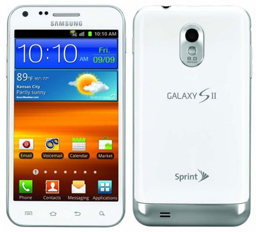 Samsung Galaxy S II Epic 4G Touch Frost White