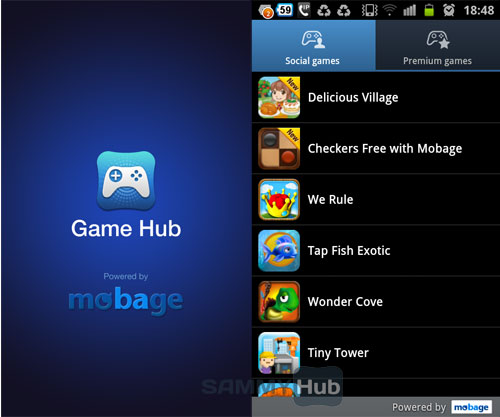 Samsung Galaxy Apps Games