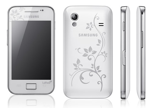 galaxy ace la fleur Samsung introduces 2012 edition of La Fleur Phones