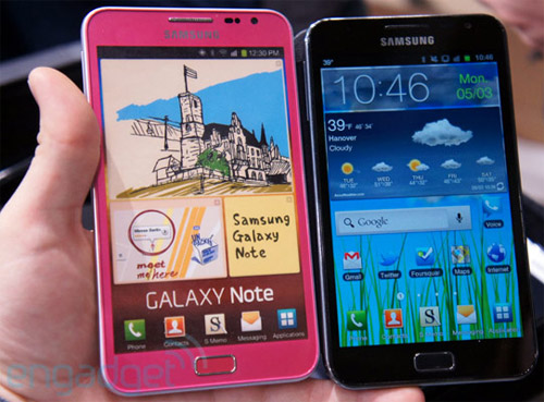 Galaxy Note Pink
