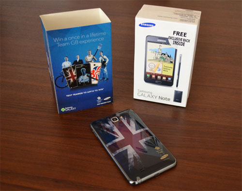 Galaxy Note Olympic Pack