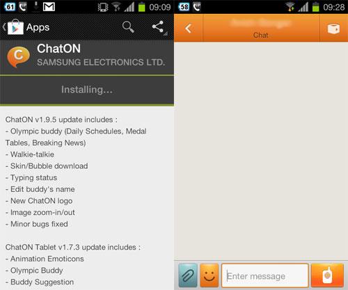 ChatON v1.9.5
