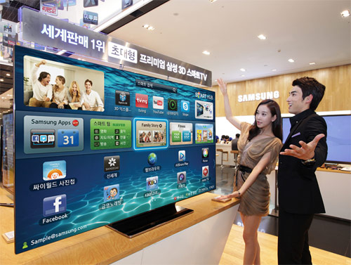 Samsung 75-inch ES9000 Smart TV