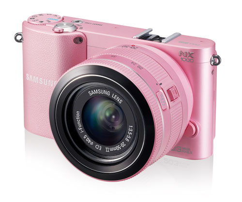 Samsung Pink NX1000