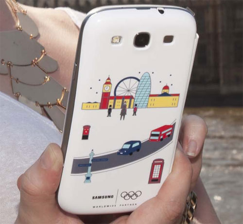 Samsung Galaxy S III Special Edition Olympics Flip Cover