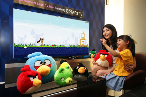Angry Birds on Samsung Smart TV