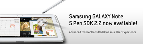 Galaxy Note SDK