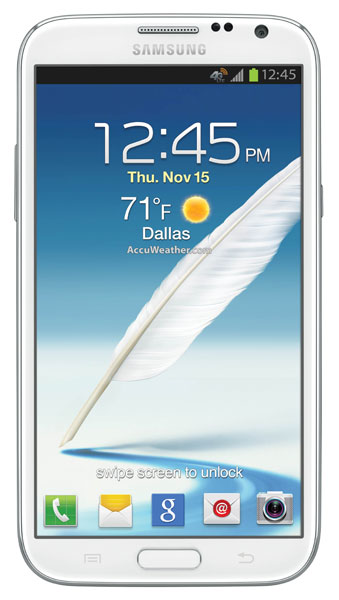 Samsung Galaxy Note II for AT&T