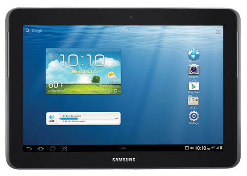 "Samsung Galaxy Tab 2 10.1"" for AT&T"