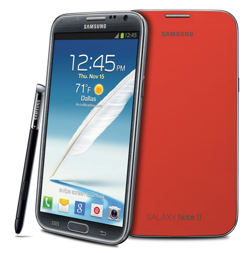 Galaxy Note II for USA