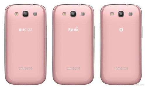 Pink Galaxy S III