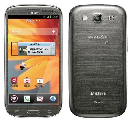 Samsung Galaxy S III Alpha (SC-03E)