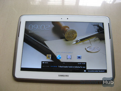 Galaxy Note 800 Review
