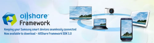 Samsung Allshare SDK