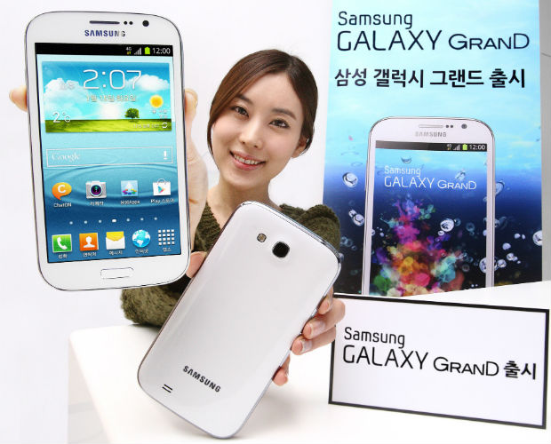 Galaxy Grand for South Korea