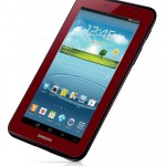 Samsung launches limited edition Garnet Red Galaxy Tab 2 7.0 in US