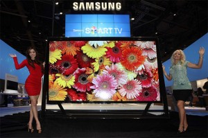 Samsung UHD TV at CES 2013