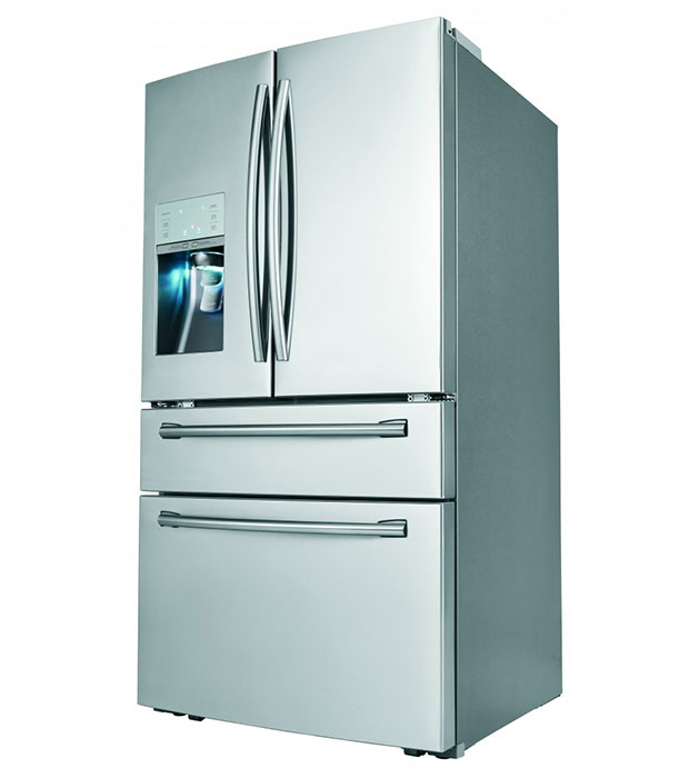 Samsung RF31FMESBSR Refrigerator comes with sparkling water dispenser ...