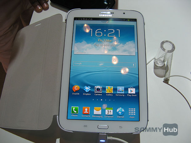 Galaxy Note 510 Hands-on