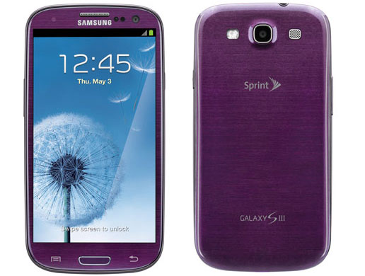 Purple Galaxy S III