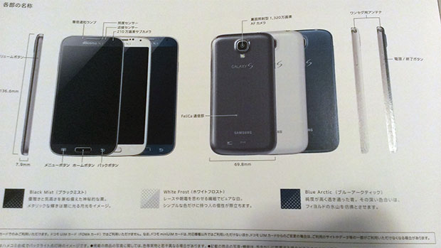 Galaxy S4 Arctic Blue