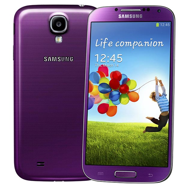 Purple Mirage Galaxy S4