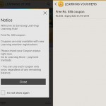 Samsung giving away Rs. 555 voucher for new Samsung Learning users