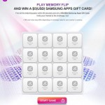 Win $5 Samsung Apps Gift Card from Samsung