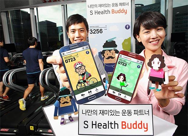 Samsung S Health Buddy